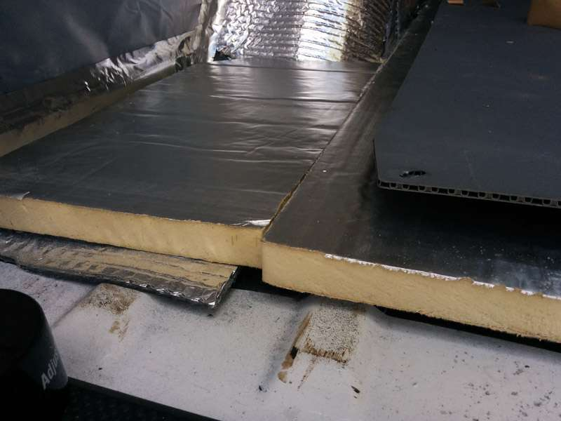 Car Floor Board ~ Insulating a sprinter camper van conversion seanstoops
